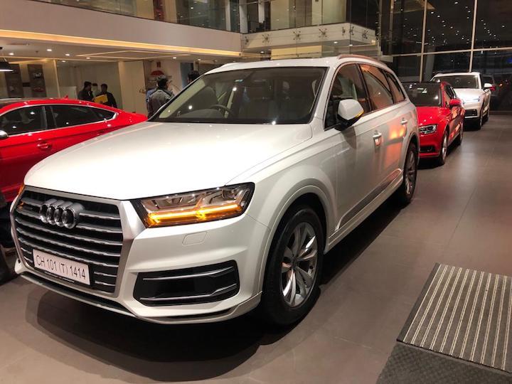Audi Q7 self drive