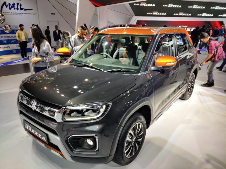 2020 Maruti Suzuki Vitara Brezza Facelift Bookings Image