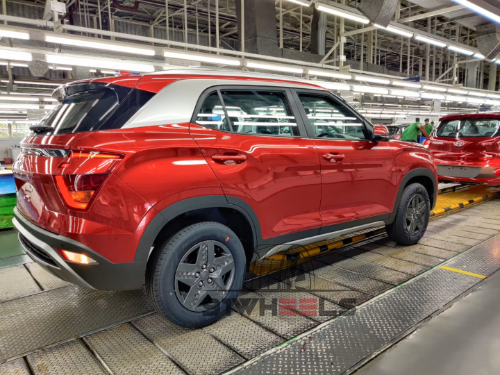 2020 Hyundai Creta Alloy Wheels Image