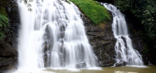 Abbey Water Falls in Coorg