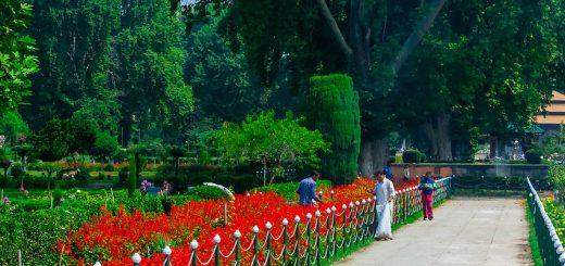 Shalimar Bagh in Kashmir