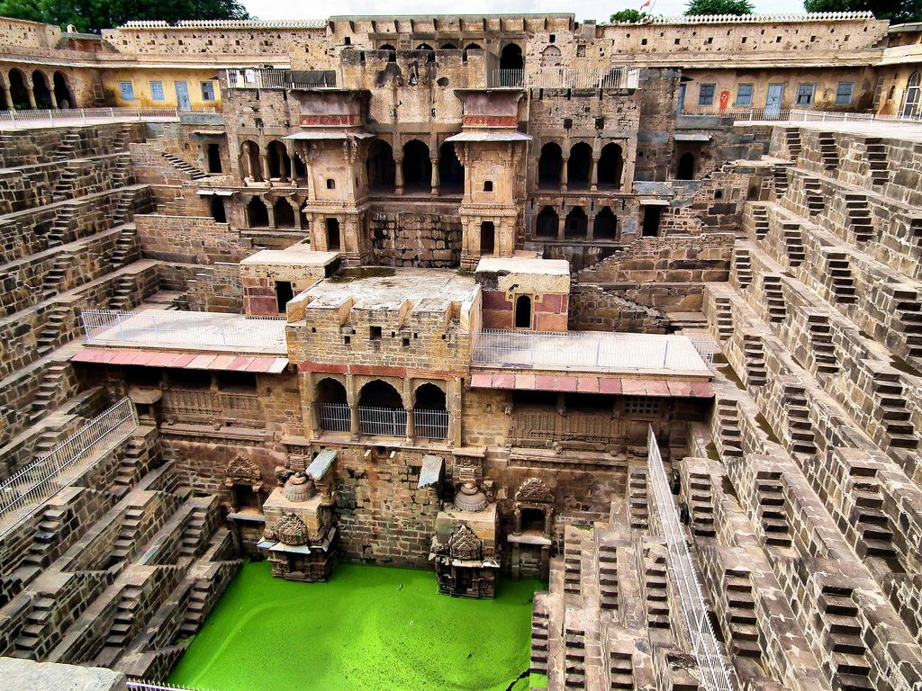 Chand Baori or Bawri Rajasthan