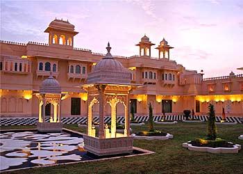 Udai Vilas Palace, Bharatpur Wildlife Sanctuary - Rajasthan