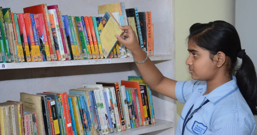 Adamas Wolrd School Library