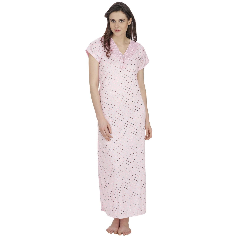Secret Wish Women s Hosiery Pink Nighty (Pink 86700a36a