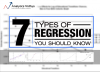 7 Regression Techniques you should know!