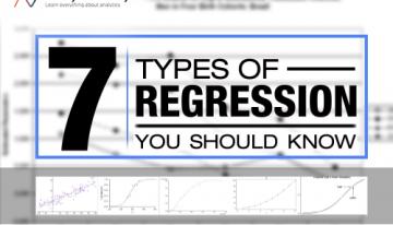 7 Regression Techniques you should know!