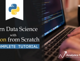 A Complete Python Tutorial to Learn Data Science from Scratch