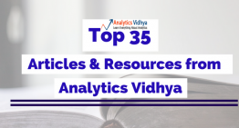 Top 35 Articles and Resources from Analytics Vidhya for the year 2016
