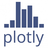 How to create Interactive data visualization using Plotly in R / Python?