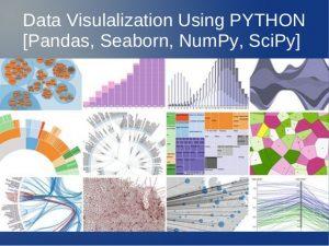 data visualization, python, seaborn, numpy, scipy, pandas