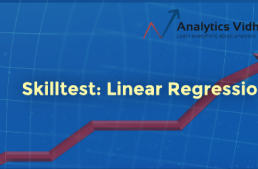 30 Questions to test a data scientist on Linear Regression [Solution: Skilltest – Linear Regression]