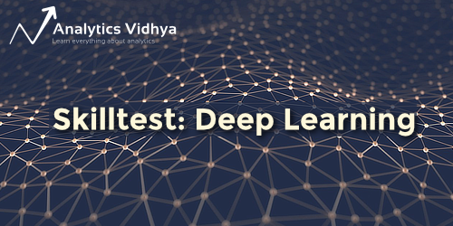 30 Questions to test a Data Scientist on Deep Learning (with solutions)