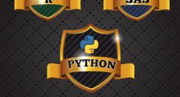 R vs. Python, R, SAS, Python