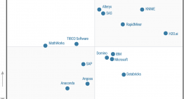 Gartner's 2018 Magic Quadrant Ranks Elite Machine Learning Tools