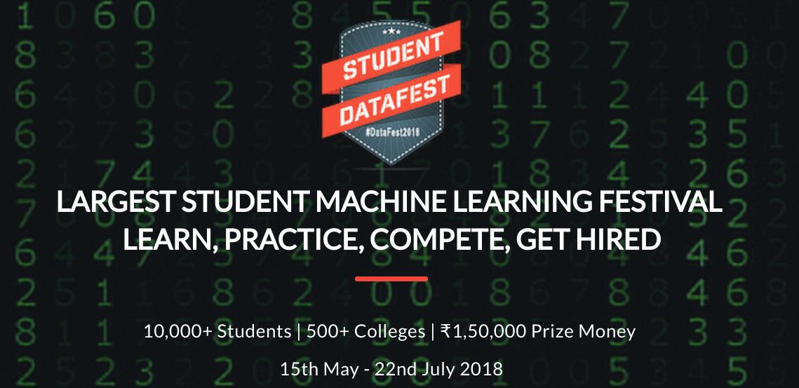 Launching Student DataFest 2018 - The Largest Student Machine