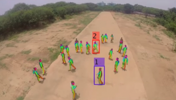'Eye in the Sky' is a Machine Learning Project that Detects Violent People in Crowds