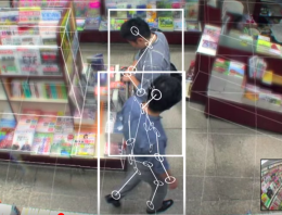 'AI Guardman' – A Machine Learning Application that uses Pose Estimation to Detect Shoplifters