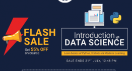 FLASH SALE! Get Flat 55% off on our Popular 'Introduction to Data Science' Course!