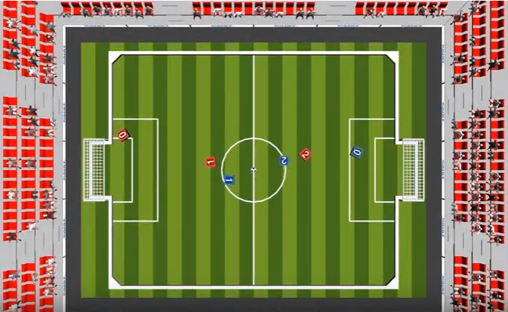 AI World Cup is a Fully Simulated Football Tournament Powered by