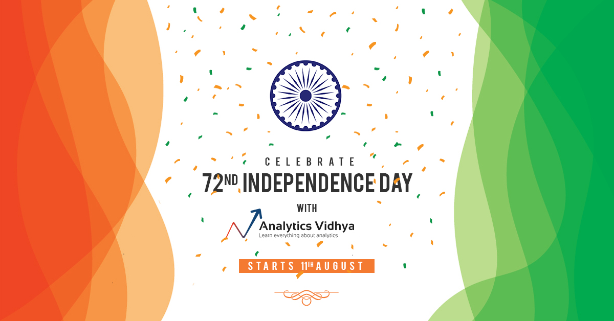 independence day bonanza with analytics vidhya s offers and launches