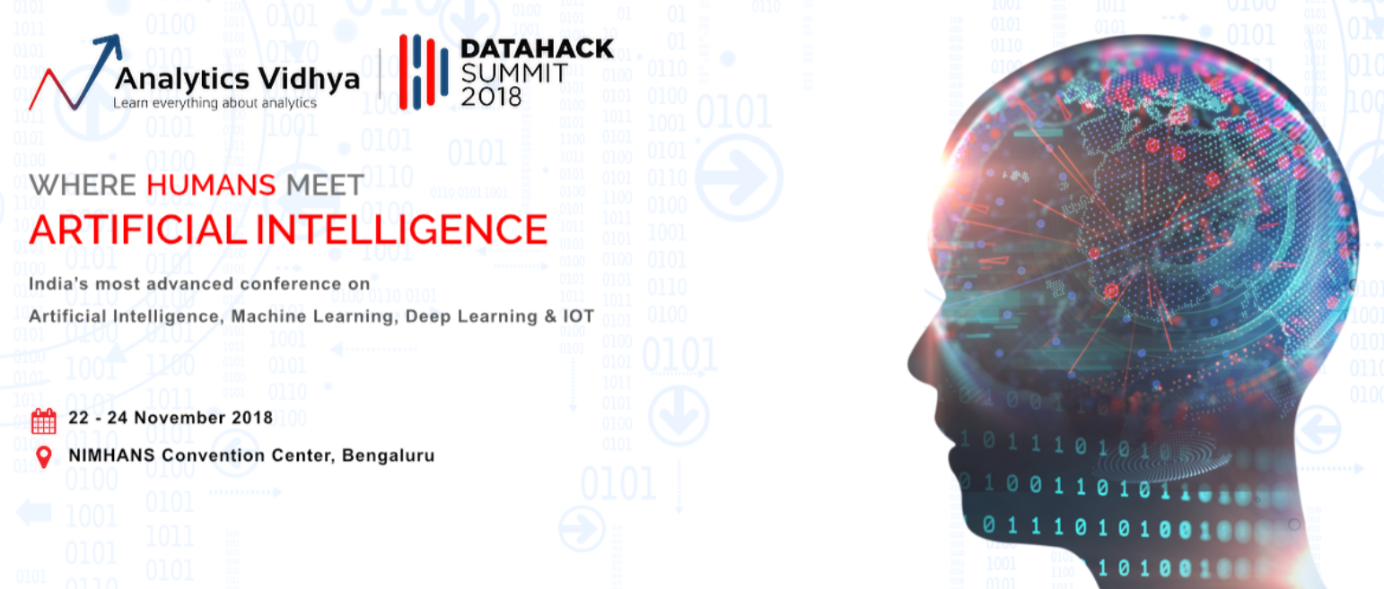 Building DataHack Summit 2018 - India's Most Advanced AI Conference
