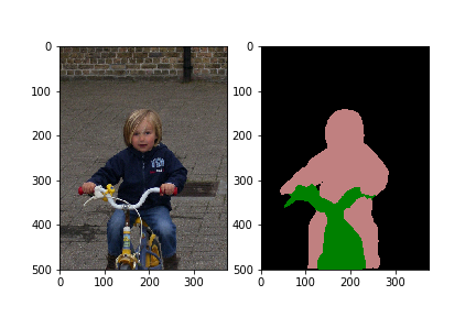semantic segmentation example
