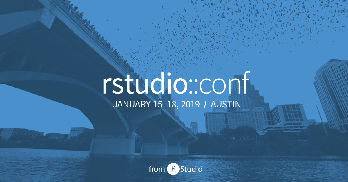 Top Highlights from rstudio::conf 2019