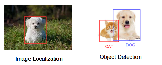 image localization and object detection