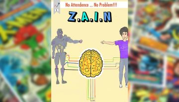 The AI Comic: Z.A.I.N – Issue #1: Automating Attendance using Computer Vision