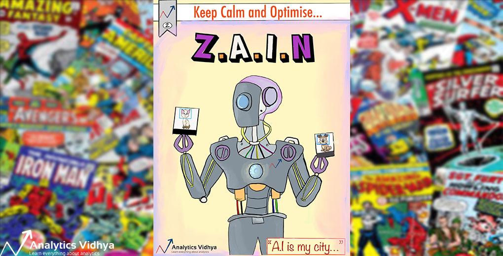 AI comic, ZAIN