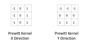 prewitt kernel