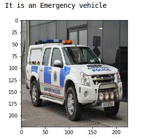 emergency vehicle image
