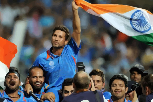 God of Cricket Sachin