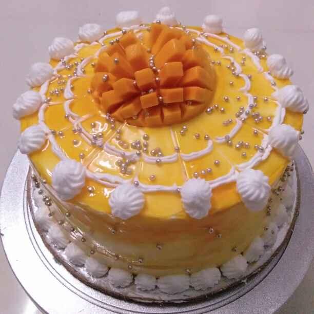 How to make आंबा केक