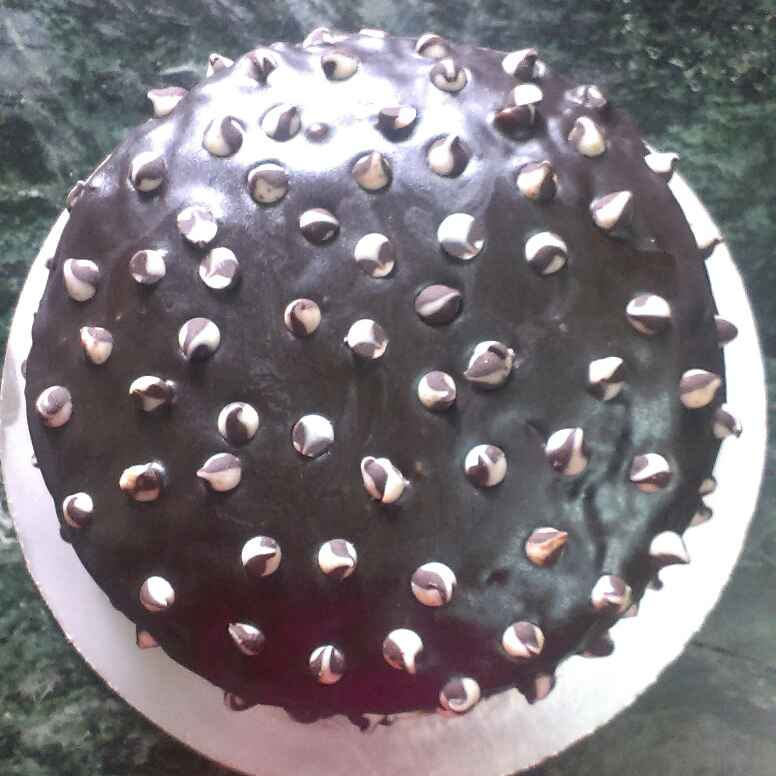 How to make चॉकलेट ट्रफल केक