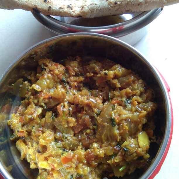 Photo of Eggplant bharit by दिपाली सावंत at BetterButter