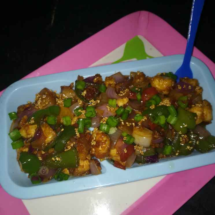Photo of Paneer chilli by Anamika Bhatt at BetterButter