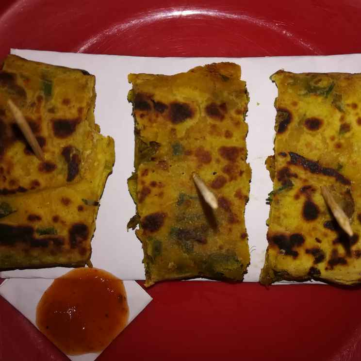 Photo of Paratha veg spring roll by Anamika Bhatt at BetterButter