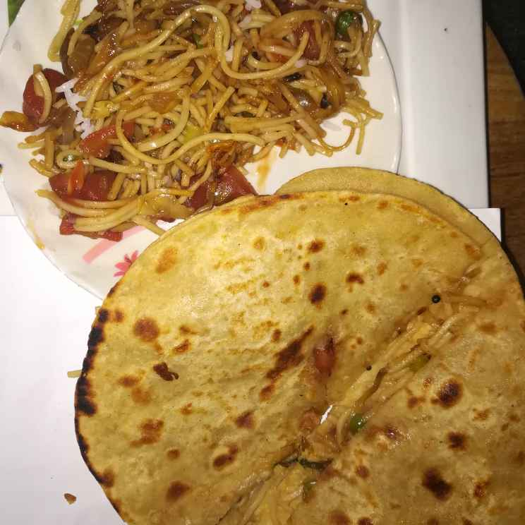 Photo of Stuffed noodles paratha by Anamika Bhatt at BetterButter