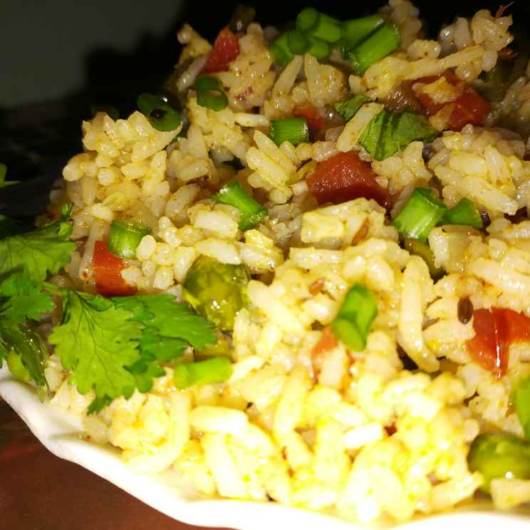 How to make Veg achari pulao