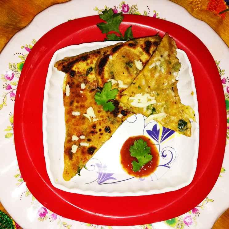 How to make Potato paratha sandwich