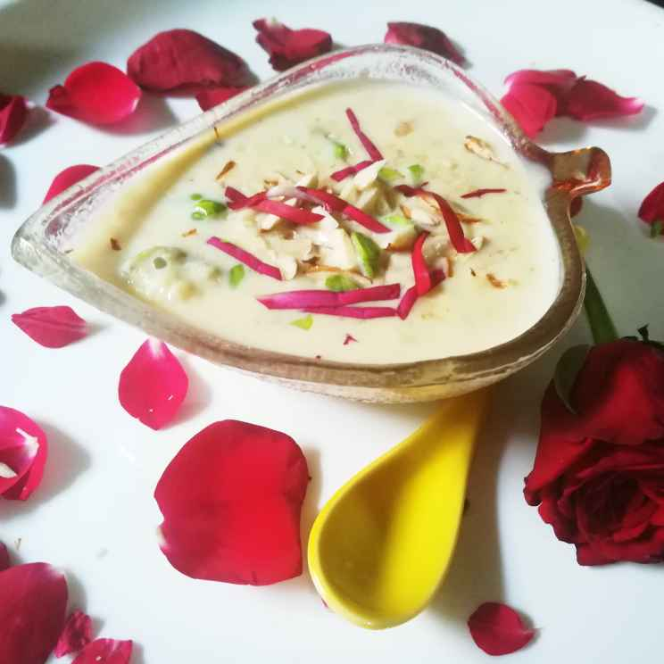 How to make बासुंदी