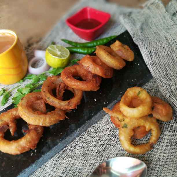 Photo of Rice onion rings by Anamika Bhatt at BetterButter