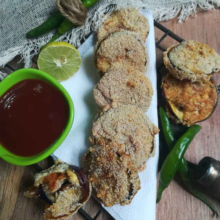 How to make Rava baigan
