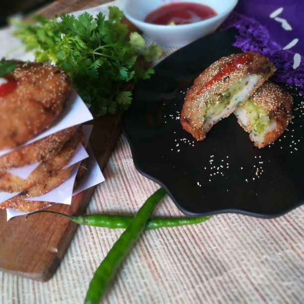 Photo of Poha cutlet by Anamika Bhatt at BetterButter