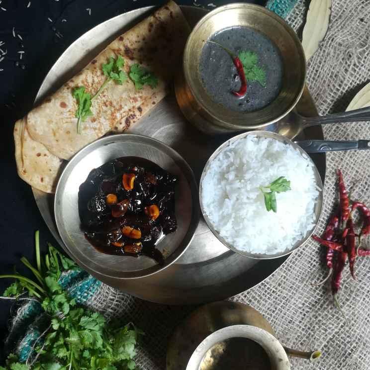 Photo of Paramparik thali by Anamika Bhatt at BetterButter