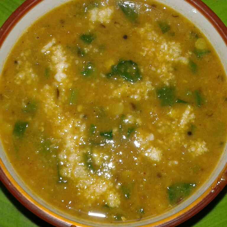 Photo of mix dal with spinach by साची सचिन at BetterButter