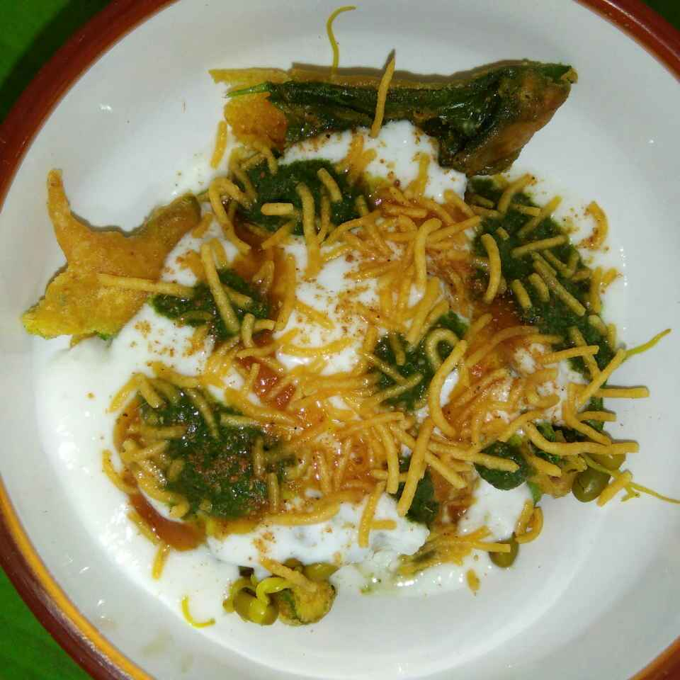 How to make palak chaat