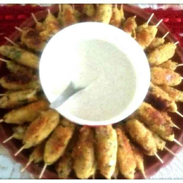 Photo of Dahi tikka by শংকরী পাঠক at BetterButter